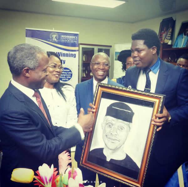 Adedayo and Vice President, Prof Yemi Osinbajo