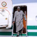 PHOTOS: Buhari arrives Nigeria from Turkey