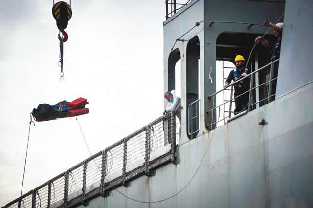 26 dead Nigerian women found on Spanish warship