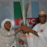 Wife of ex-PDP National Chairman, Maryam Ali, joins APC