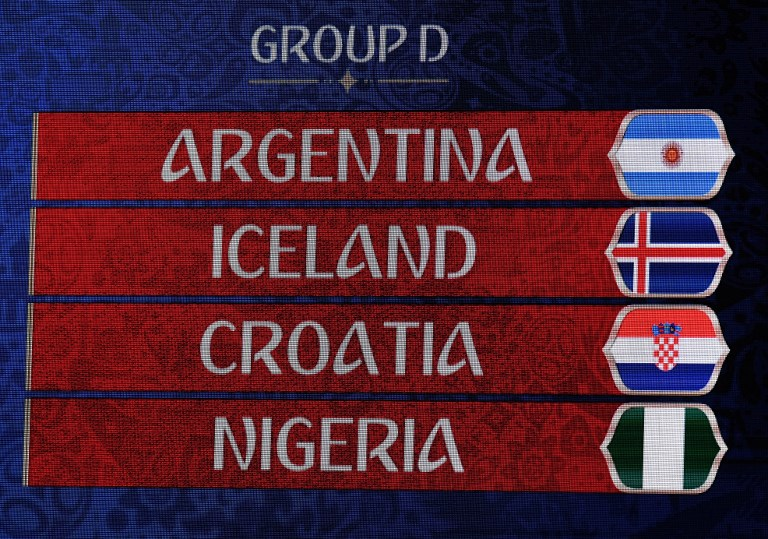 Nigeria draw Argentina in Group D