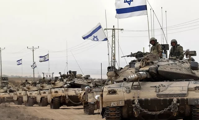 Israel intercepts two missiles fired from Gaza