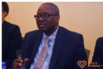 Consultant Cardiologist, University of Ilorin Teaching Hospital (UITH), Prof. Ibraheem Katibi