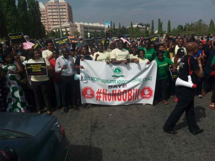 Protesters Storm N'Assembly Over NGO Bill