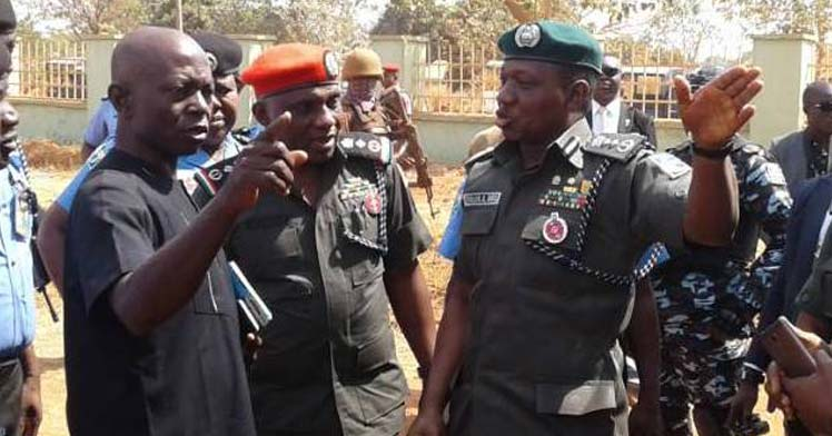 [BREAKING] Benue youths, Police in a shoot-out