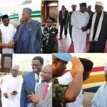Obasanjo, Saraki, Okorocha, Okocha arrive Monrovia for Weah's inauguration